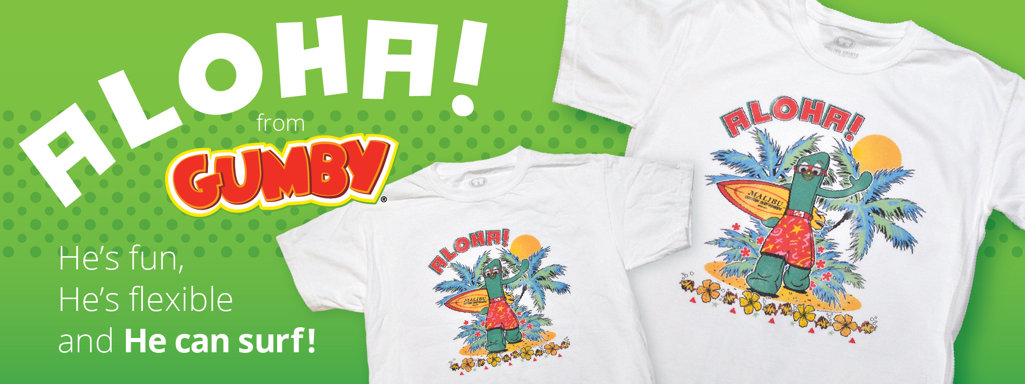 new gumby t-shirts