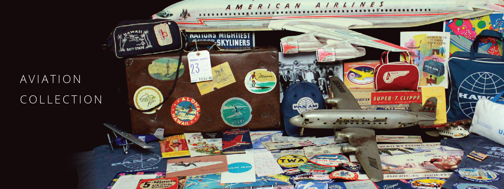 aviation t-shirts, pan am bags, pan am t-shirts