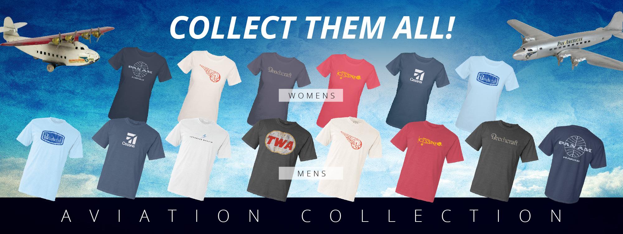 aviation t shirts