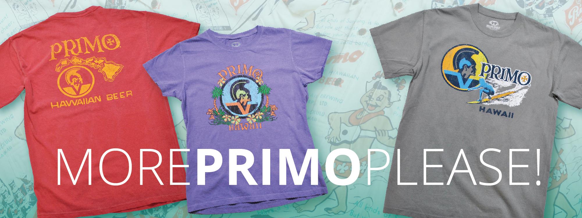 vintage primo t-shirts