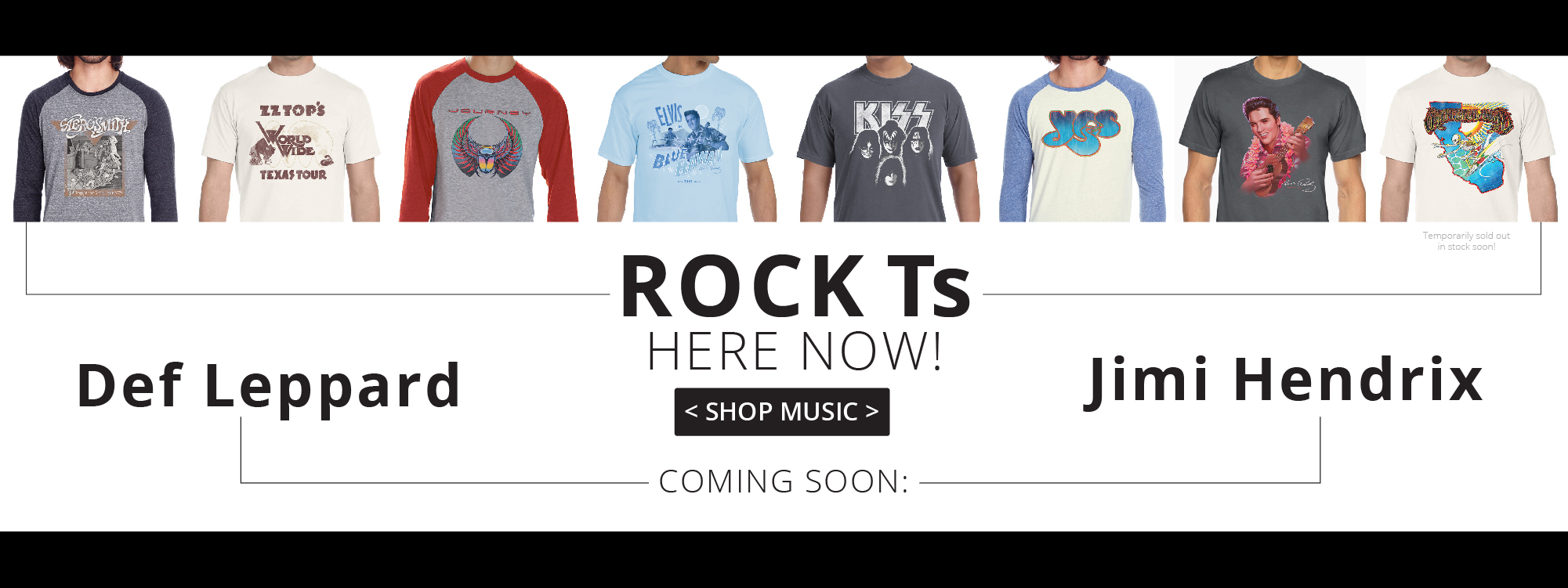 rock n roll t-shirts, vintage rock tshirts