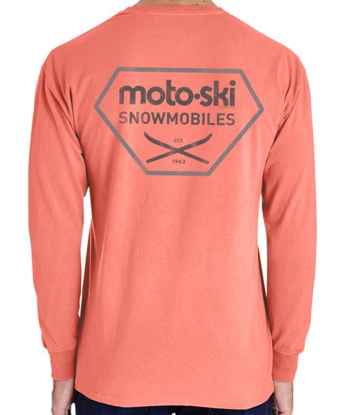Moto Ski Snowmobiles T-Shirt
