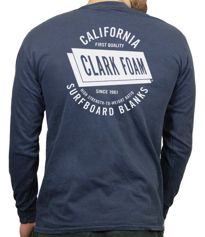 Clark Foam CA Blanks Long Sleeve T-Shirt
