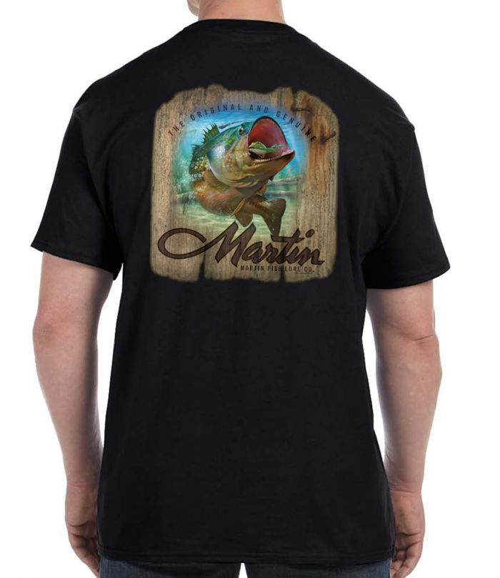 Martin Lure on Wood T-Shirt