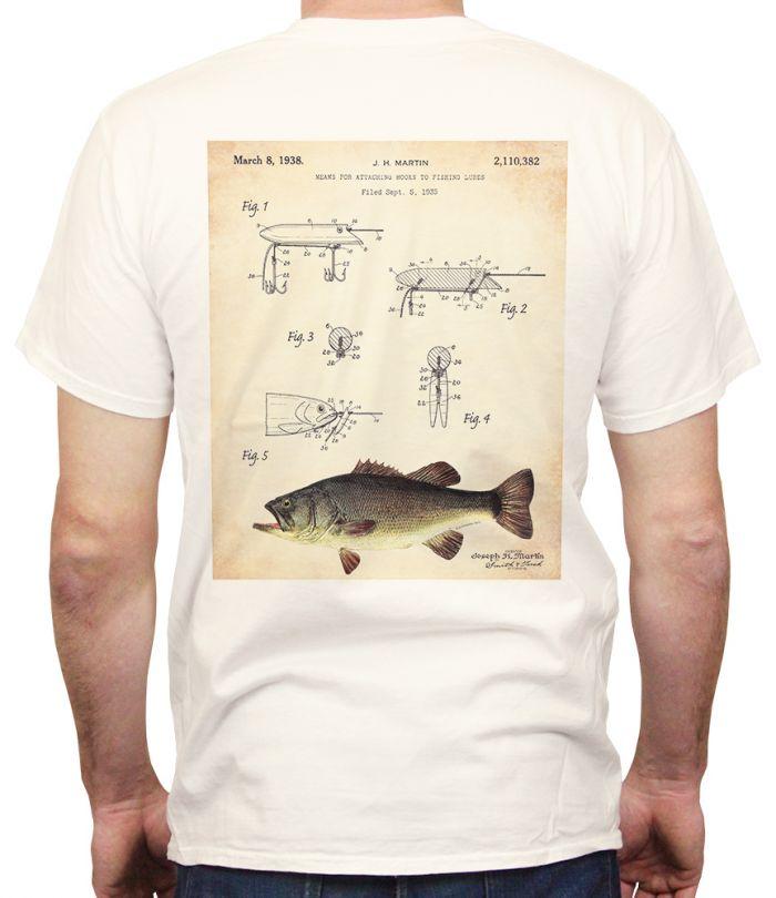 Martin Bass Lure Patent T-Shirt