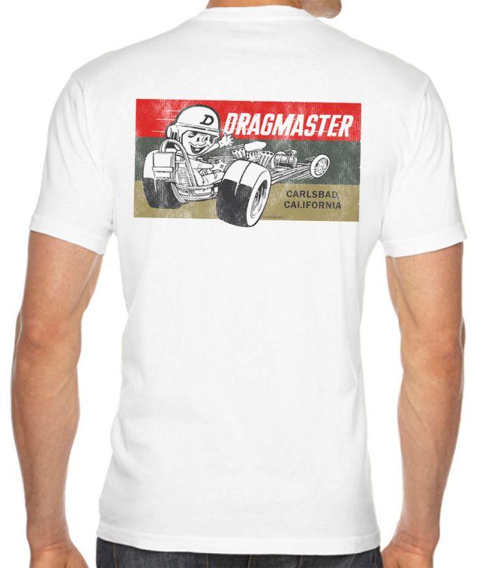 Dragmaster Retro Logo T-Shirt