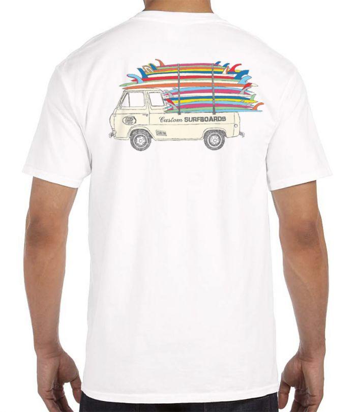 Clark Foam Stack T-Shirt