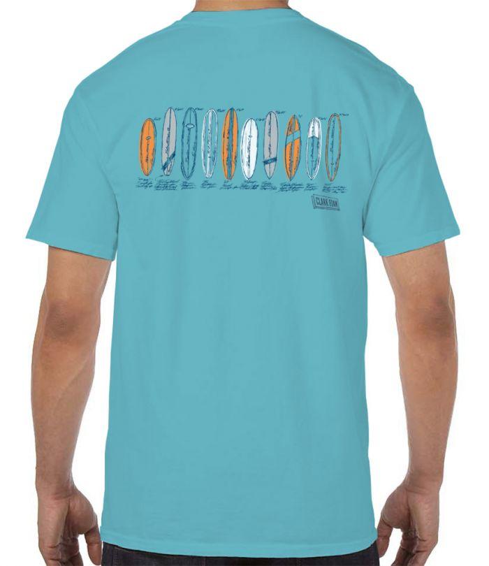 Clark Foam Color Sketch T-Shirt