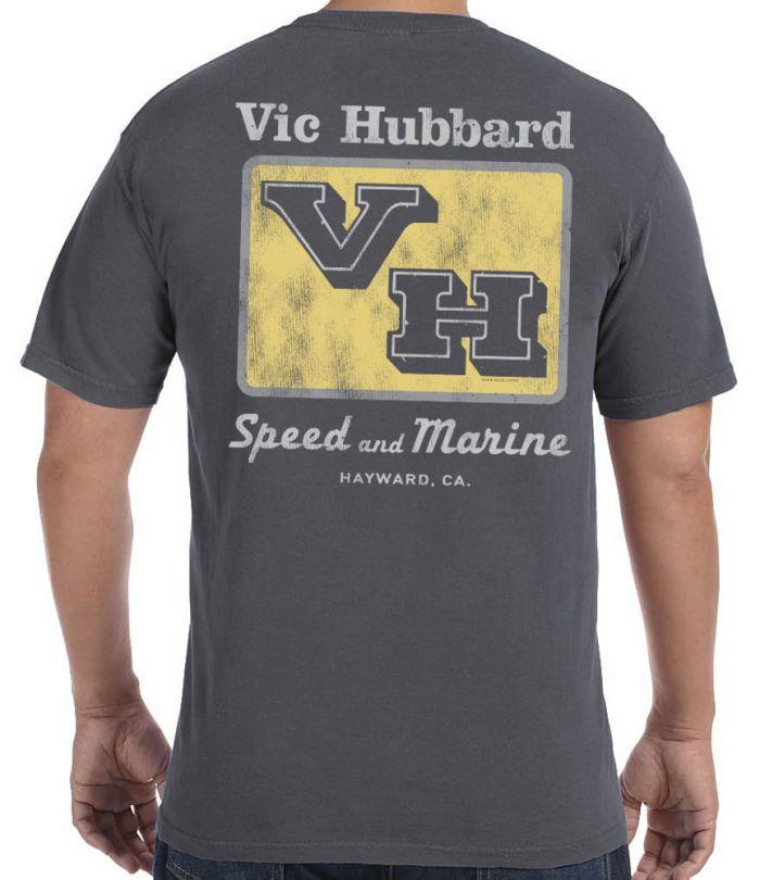 Vic Hubbard Retro Logo T-Shirt