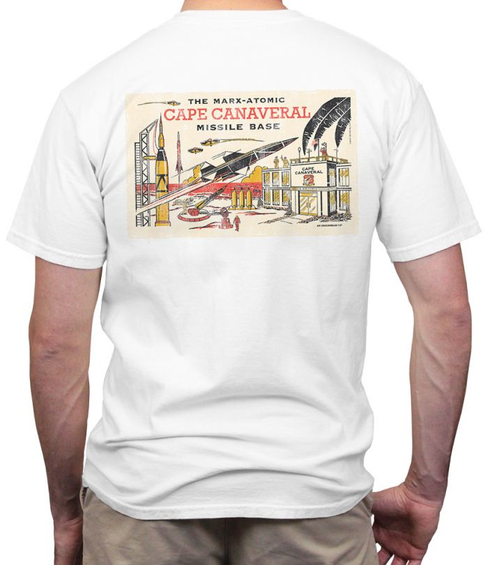 Marx Missle Base Retro T-Shirt