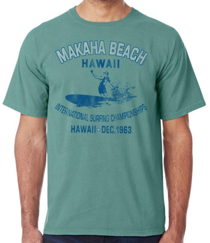 Makaha Beach Hawaii 1963 T-Shirt