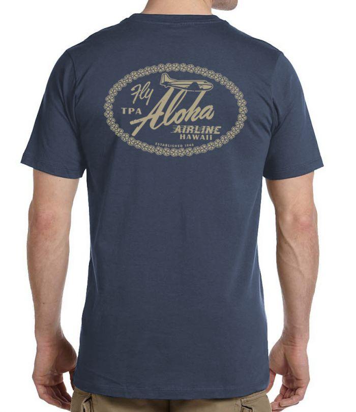 Aloha Airline TPA Family Men's Shirt