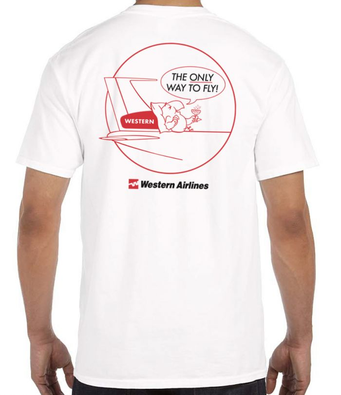 Western Airlines Wally T-Shirt