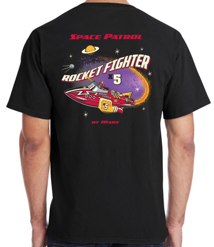 Marx X5 Rocket Fighter Retro T-Shirt