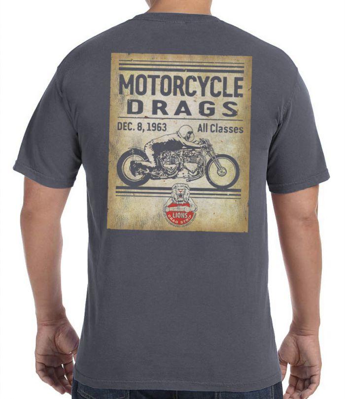 Lions Drag Bike Retro T-Shirt
