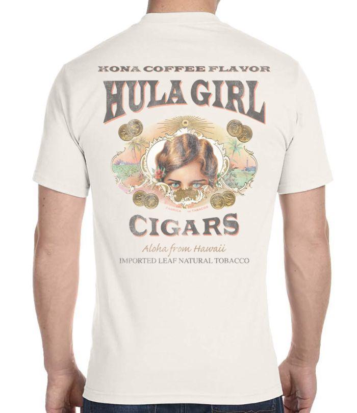 Men's Hula Girl Cigars T-Shirt