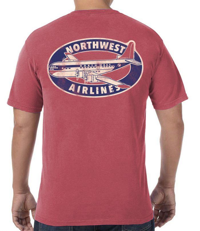 Northwest Air Stratocruiser Retro T-Shirt