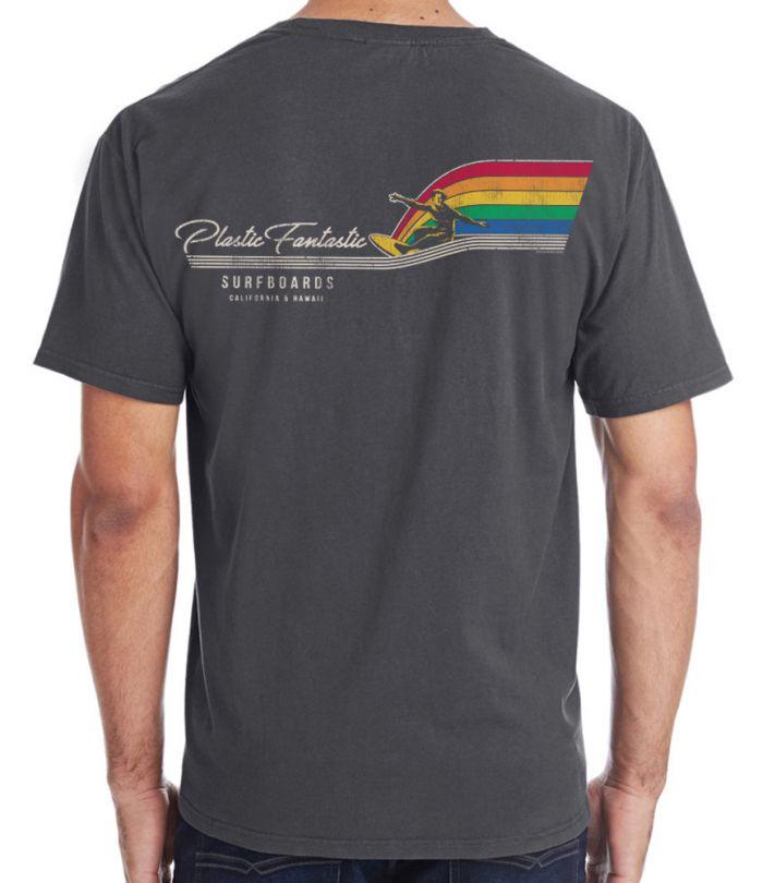 Plastic Fantastic Retro Rainbow T-Shirt