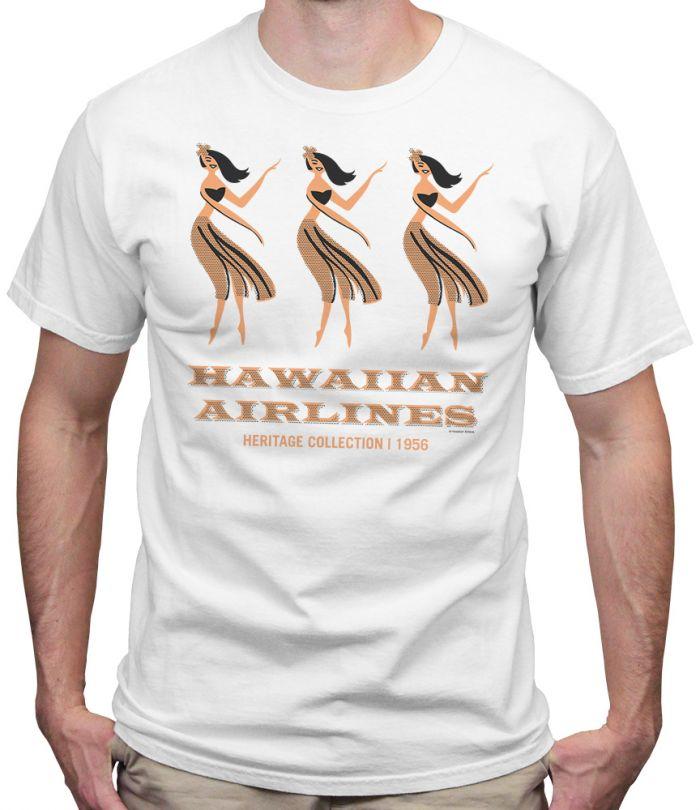 Hawaiian Arilines Heritage Hula T-Shirt