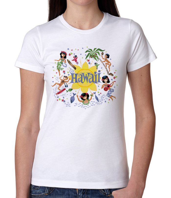 Here's Hawaii Women's T-Shirt