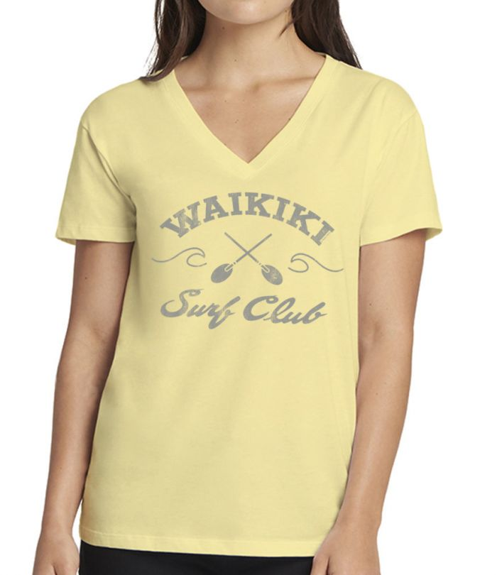 Waikiki Surf Club V-Neck T-Shirt
