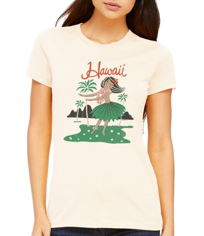 Hula Girl Women's T-Shirt