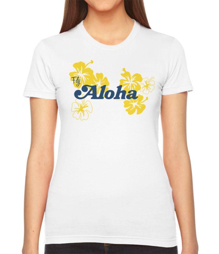 Retro Fly Aloha Women's T-Shirt