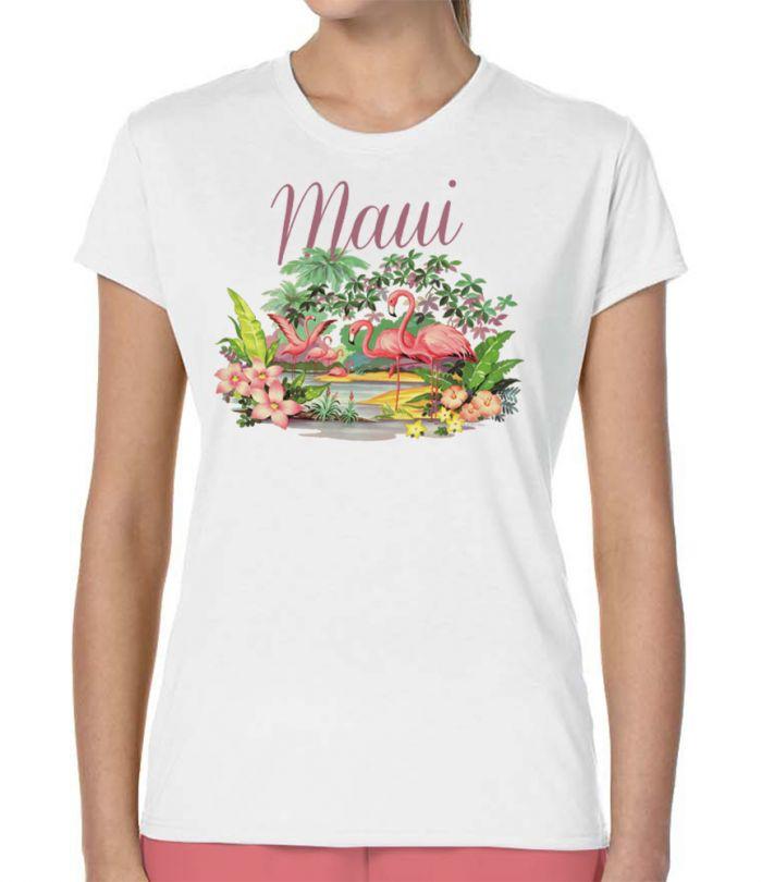 Maui Flamingos T-Shirt