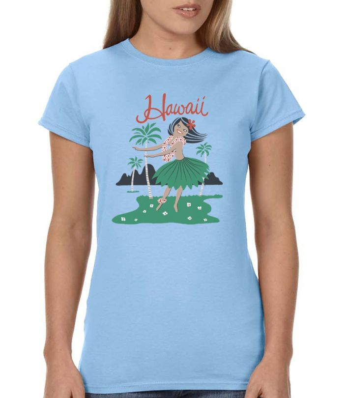 5 &10 Hula Girl Women's T-Shirt