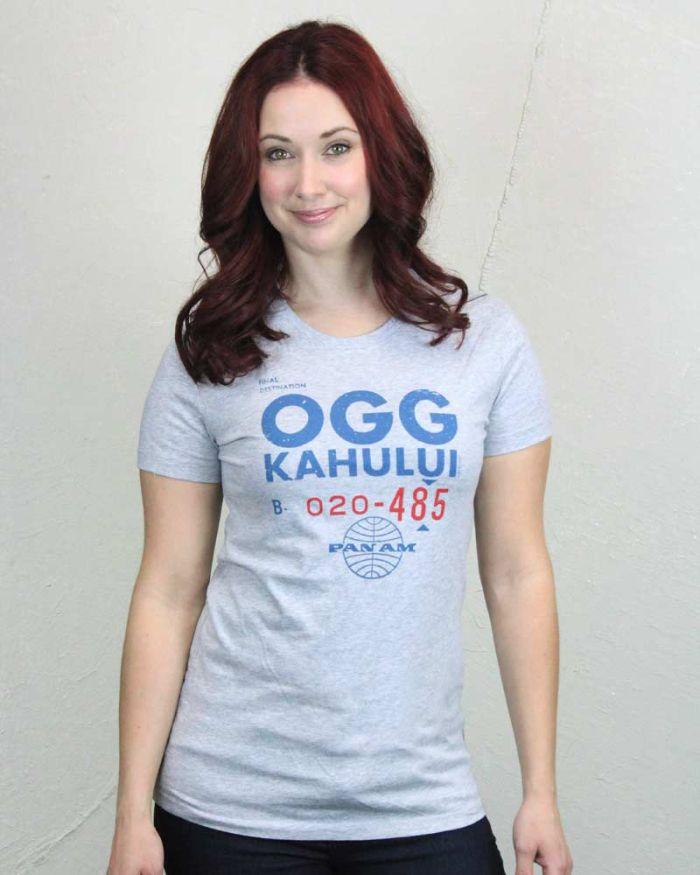Pan Am OGG Ticket Women's Shirt