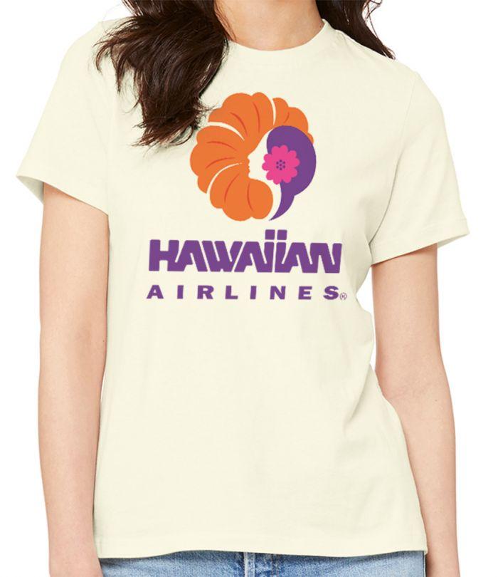 Hawaiian Airlines Vintage Heritage Logo T-Shirt