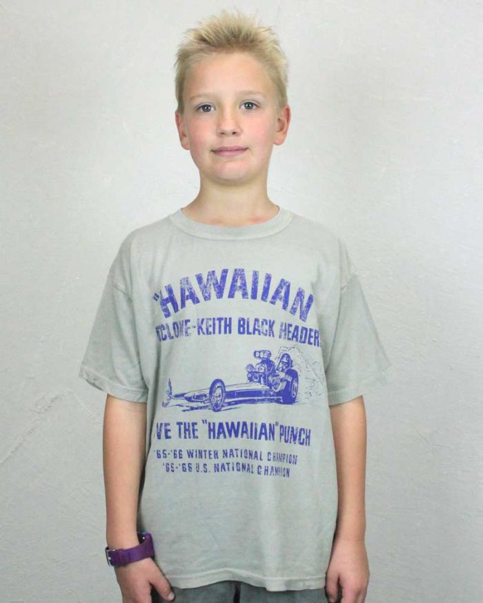 The Hawaiian Kid's Shirt