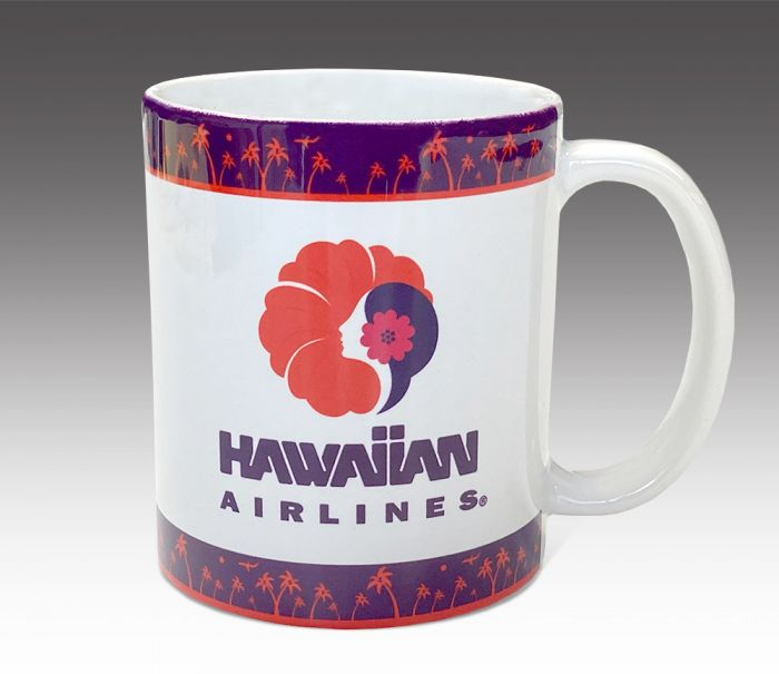 Hawaiian Airline Coffee Mug