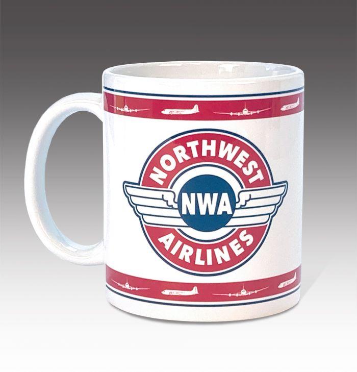 Northwest Airlines Wings Coffee Mugs