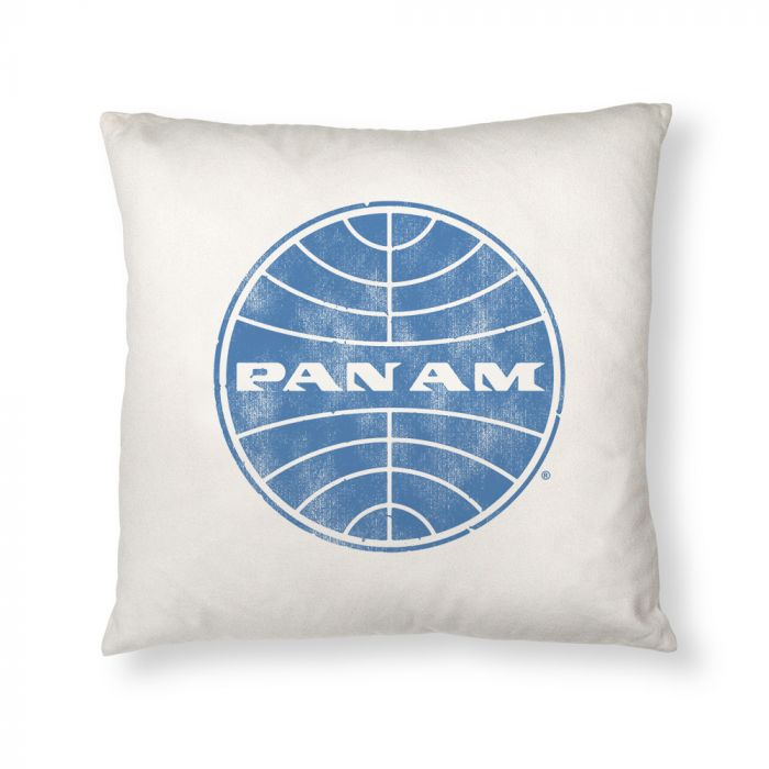 Pan Am Globe Logo Pillow Case