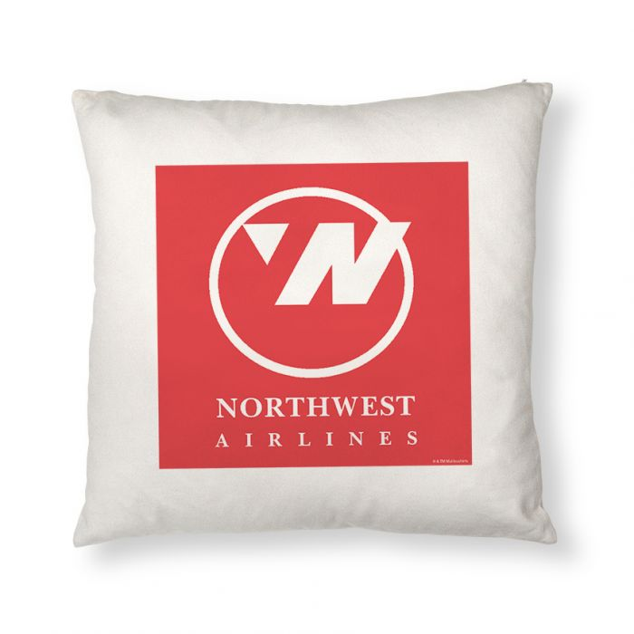 Northwest Airlines Logo Throw Pillow Cover