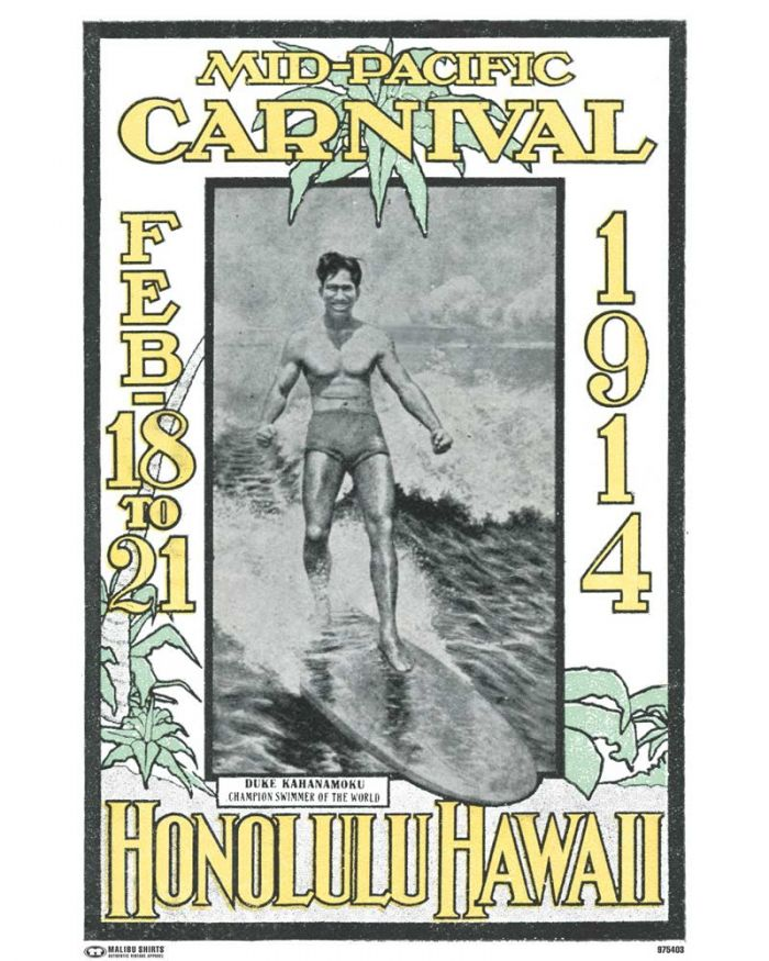 Mid-Pacific Carnival 1914 Poster