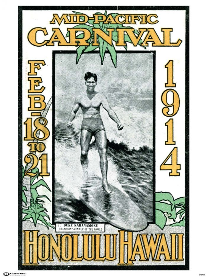 Mid Pacific Carnival 1914 Poster