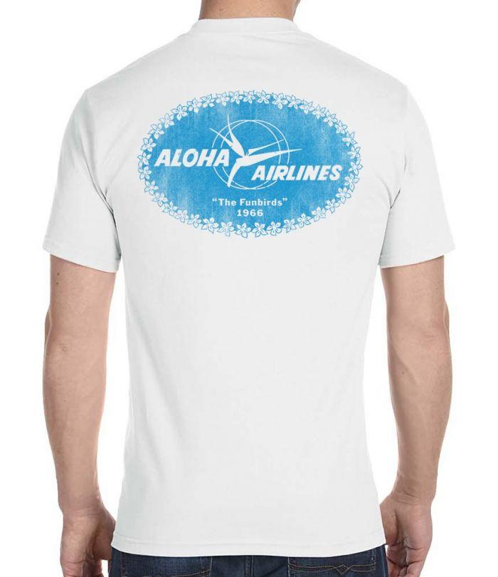 Aloha Airlines Funbirds 1966 Men's T-Shirt