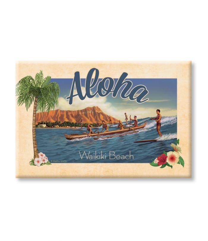 Aloha Waikiki Magnet