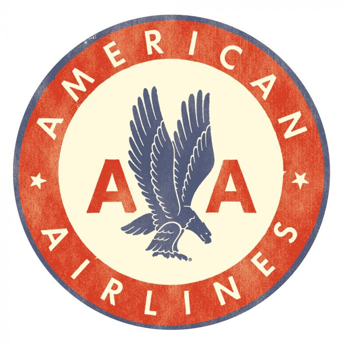American Airlines Logo Sticker