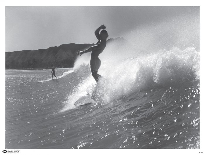 Diamond Surfer Poster