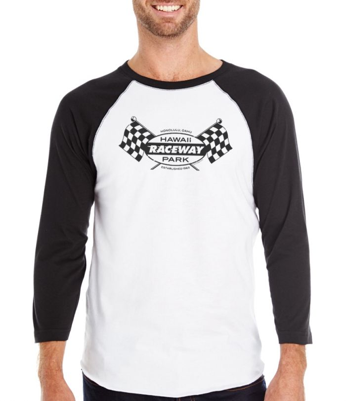 Hawaii Raceway Park Logo Long Sleeve T-Shirt