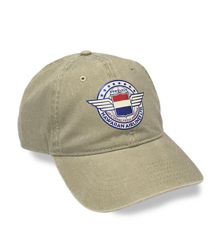 Hawaiian Air Wings Adjustable Cap