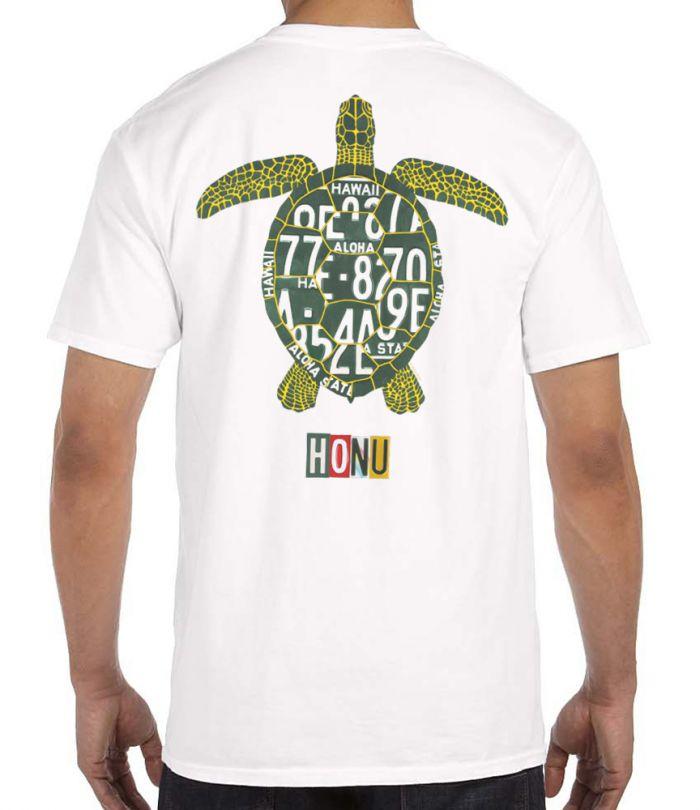 Honu License Plate Men's T-Shirt