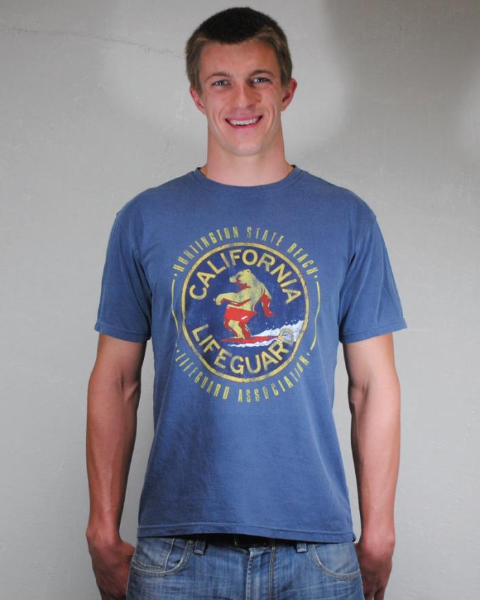 Huntington Beach Lifeguard Men's T-Shirt