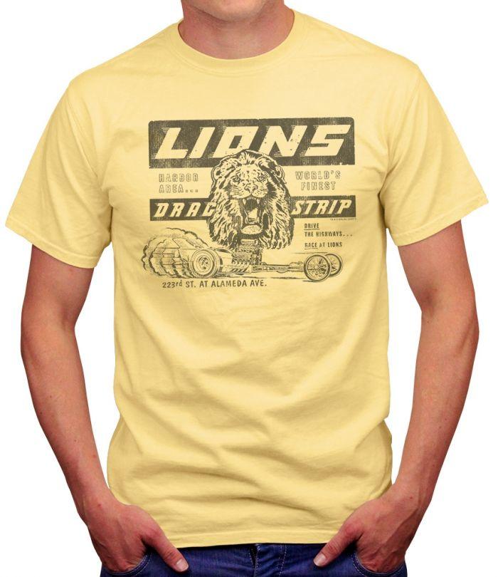 Lions Drag Strip Men's T-Strip