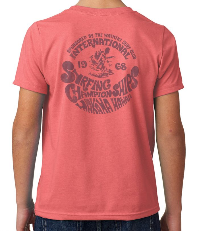 Makaha International Surf Championships 1968 Youth T-Shirt