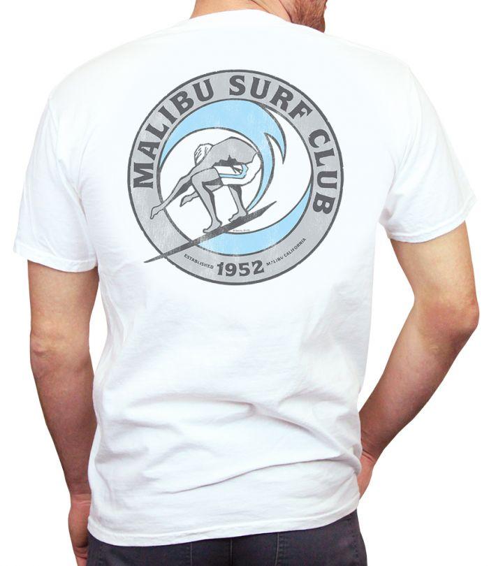 Malibu Surf Club Qmoda Logo T-Shirt
