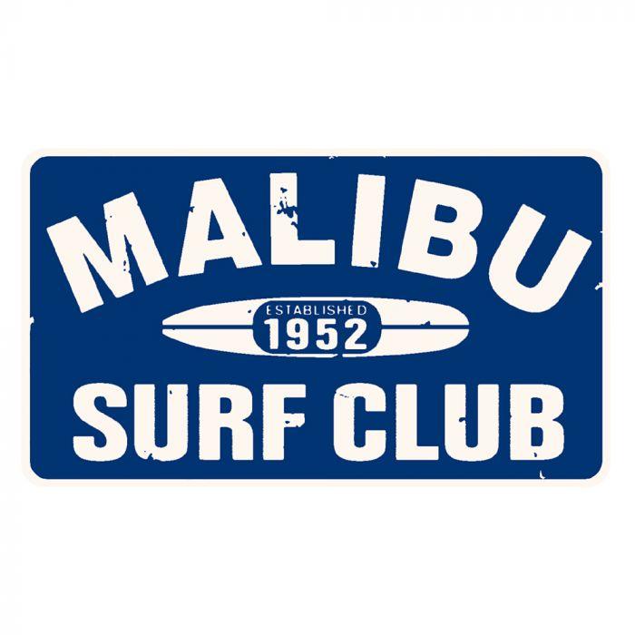 Malibu Surf Club Sticker